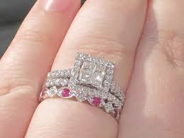 Stacked Wedding Rings by Show Me Your Stacked Wedding Bands Weddingbee