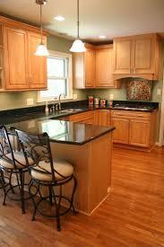 blonde cabinets kitchen kitchen decoration