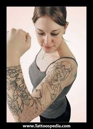 arm sleeve tattoo designs for girls 1