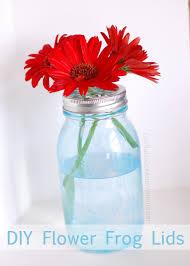 jar flowers diy jar flower lids