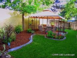 Inexpensive Backyard Landscaping Ideas Simple Backyard Landscaping Ideas On A Budget Webzine Co