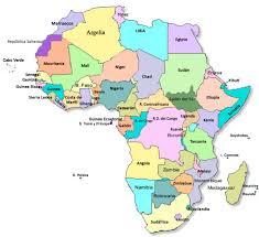 mapa de africa áfrica y su diversidad cultural países misosoafrica