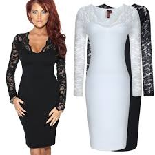compare prices on black and white cocktail party dress online