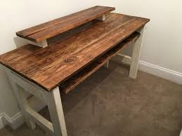 Music Studio Desk Plans by Reclaimed Wood Home Studio Desk Recording Studio Furniture Ideas
