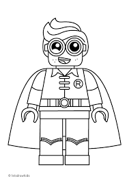 Innovative Ideas Lego Color Pages Free Printable Mini Figure Coloring Pages Lego