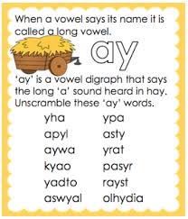 long a vowel sound ai worksheet free and printable from