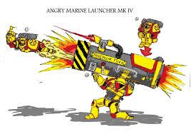 Angry Marines Meme - angry marine launcher by marshall tharidus on deviantart