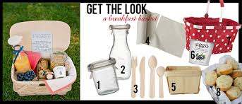 breakfast baskets get the look a breakfast basket roar events
