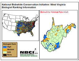 Kentucky Tennessee Map by State Habitat Potential Maps U2013 Nbci