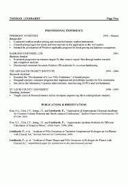 Venture Capital Resume Example Engineering Resume U2013 Resume Examples