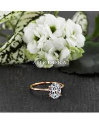 dainty engagement rings shopping deals on 2 0 ct dainty oval engagement ring oval