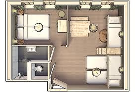 plan chambre d hotel chambres d hôtel pour 6 personnes hôtel efteling loonsche land