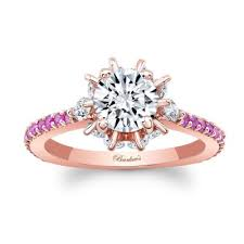 pink gold engagement rings barkev s pink sapphire gold engagement ring 8023lps barkev s