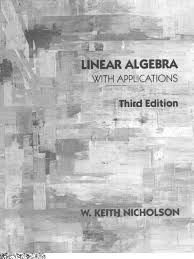 linear algebra with applications 3rd edition nicholson w keith