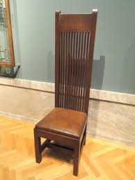 file side chair about 1902 frank lloyd wright american oak