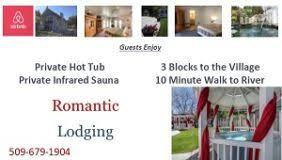Airbnb Romantic Lodging Leavenworth Washington