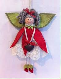 213 best felt angels and russian doll ornaments images on