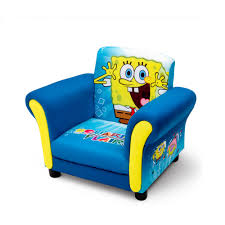 Upholstered Chair by Delta Children U0027s Products Nickelodeon Spongebob Upholstered Chair