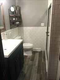 Basement Bathroom Ideas Pictures Wood Tile Bathroom Basement Bathroom Ideas On Budget Low Ceiling