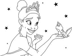 princess frog coloring pages coloring bookinfo