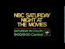 nbc saturday night at the movies promo slide 1975 youtube