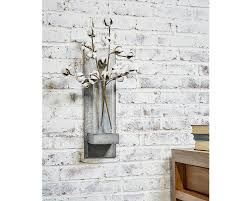 Vase Wall Sconce Galvanized Hanging Vase Sconce Magnolia Home