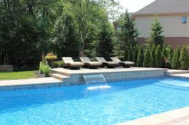 pool fã r balkon landscaping and outdoor building swimming pool waterfalls pool