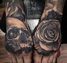 best 25 skull rose tattoos ideas on pinterest lower stomach