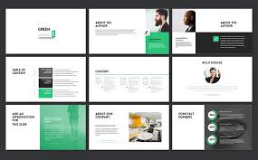 green2017 powerpoint template 65050
