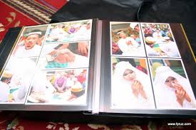 sticky photo album custom album sticky wedding afiz shidaz done my lens
