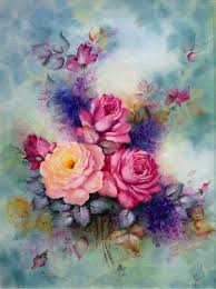 35 awesome flowers painting free u0026 premium creatives