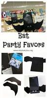 hanging bat party favors learn how to make these simple