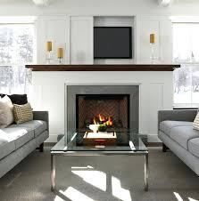 can you put tv above wood burning stove living room fireplace a on wall putting uk