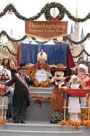 enjoy thanksgiving at disney world thanksgiving parade