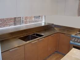 bronze countertops brooks custom