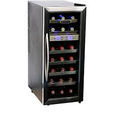 Wine Cabinet With Cooler by Whynter Wc 211dz 21 Bottle Dual Temperature Zone Wine Cooler