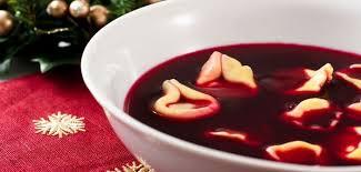 recette cuisine polonaise barszcz soupe du réveillon de noël polonais recette polonaise