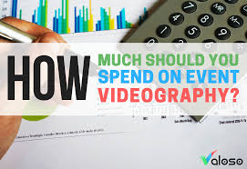 videographer prices how much should you spend on event videography valoso