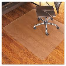 Chair Casters For Laminate Floors Es Robbins 46x60 Rectangle Chair Mat Economy Series For Hard