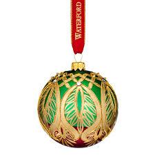 waterford nostalgic peacock grande ornament 2017 silver