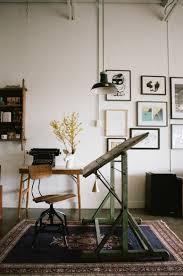 Studio Drafting Table by Le Loft Atypique De Sayeh à Montréal Part 1 Workspaces