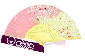 japanese fans dawningview japanese handheld fan cherry blossoms on