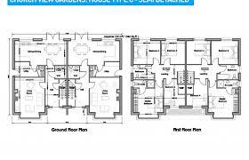semi detached house floor plan exceptional split bedroom floor plan semi detached for girls plans