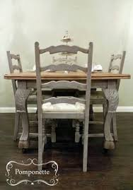 Ethan Allen Bistro Table Vintage Ethan Allen Table And Chairs Painted In Duck Egg My