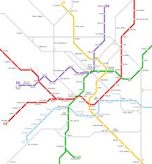 Metro Green Line Map by Urbanrail Net U003e Europe U003e Italy U003e Metropolitana Di Milano Milan