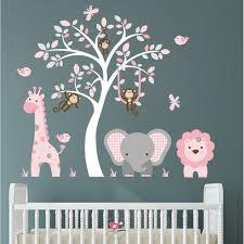 jungle animal nursery wall art stickers previous