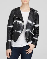 jacket moto blanknyc jacket tie dye faux leather moto bloomingdale u0027s