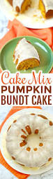 cake mix pumpkin bundt cake in the kids u0027 kitchen