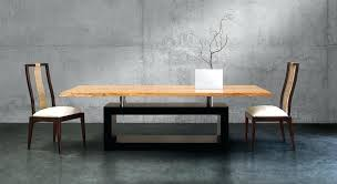 Contemporary Dining Table Base Contemporary Dining Room Tables Modern Black And White Dining Room