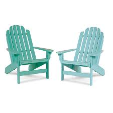 Seafoam Green Chair by Breezesta Quick Ship Shoreline Adirondack Chair Seafoam